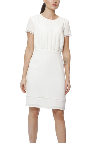 Dry Lake Taylor Dress Creme White