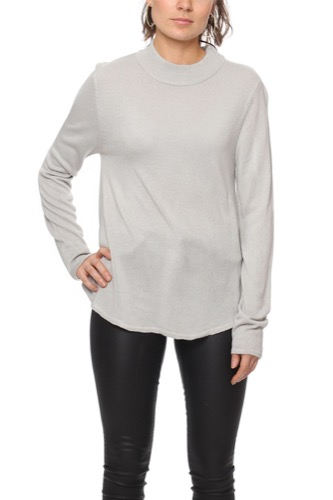 Rut & Circle CAILYN TURTLE SWEAT GREY