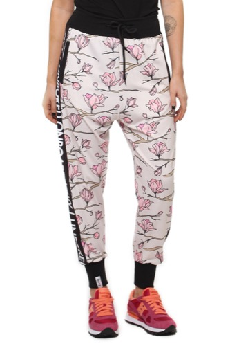 Eivy PANTS- HARLEM TRAINING CARTOON FLOWER