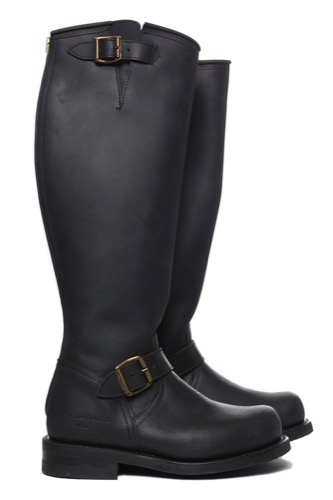 Primeboots Engineer High-302 Old Black/guld