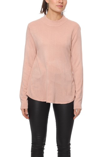 Rut & Circle CAILYN TURTLE SWEAT SOFT PINK