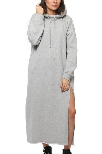 Dr. Denim DASHA DRESS LIGHT GREY MIX