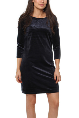 Vila VISIENNA 3/4 SLEEVE DRESS DARK BLUE