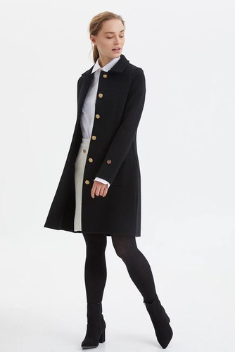 Busnel Jeanne Coat Black