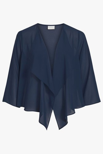 Vila Vialli 3/4 Cover Up/dc/su Navy Blazer