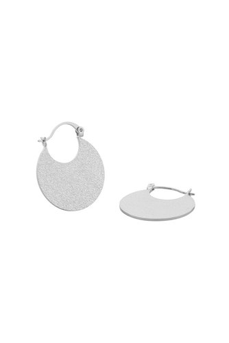 Snö of Sweden Lynx Round Ear Plain Silver