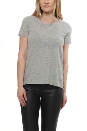 Jac 51  Rond S/s Heather Grey