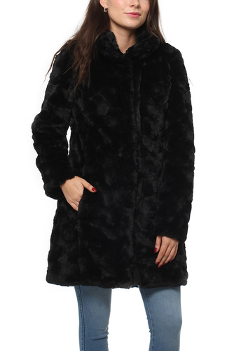 Vila VISERIA COAT/1 BLACK