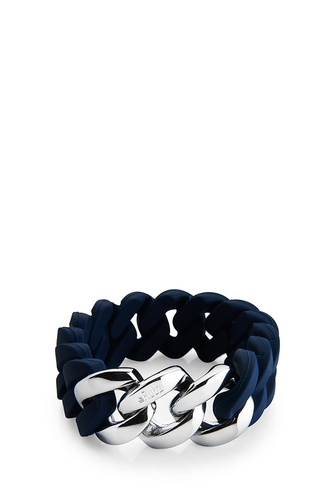 The Rubz Original Bracelet 20mm Navy/silver
