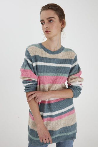 B.YOUNG Bymartine Structure Jumper Goblin Green