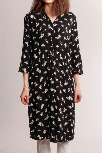 B.YOUNG Byisole Shirt Dress Black Combi