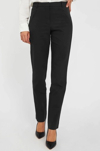 temp Angelie 633 Straight Pant Black Klarin