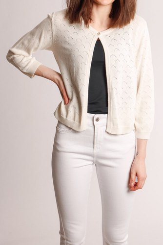 B.YOUNG Bymogana Bolero Off White