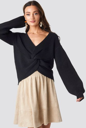 Rut & Circle Sarah Knot Knit Black