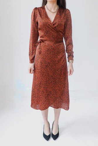 Neo Noir Adda New Leo Dress Copper