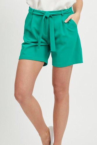 Vila Viloan Rw Shorts Pepper Green