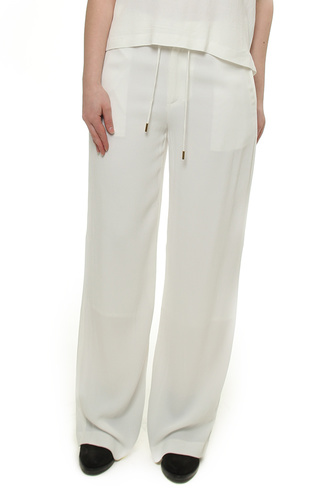 Davina Wide Pant White Smoke