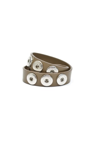 BRACELET DOUBLE LEATHER MOLE