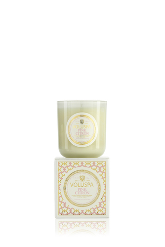 Boxed Candle 100tim Pink Citron