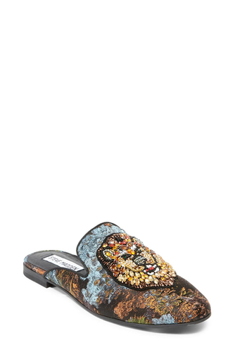 Steve Madden HUGH LOAFER GOLD MULTI
