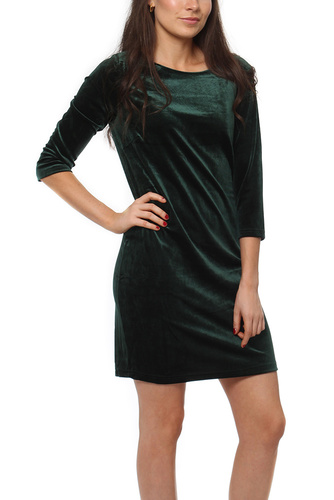 Vila VISIENNA 3/4 SLEEVE DRESS PINE GROVE