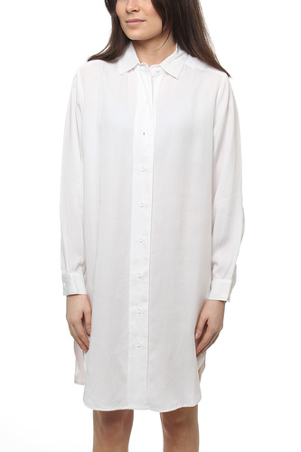 Lilly Shirt Dress White