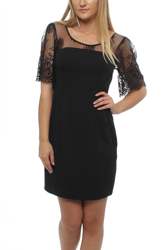 VIJUSTINE DRESS BLACK