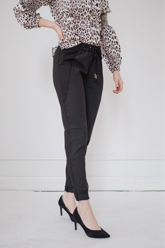 Rue de Femme New Columbine Plain Pant Black