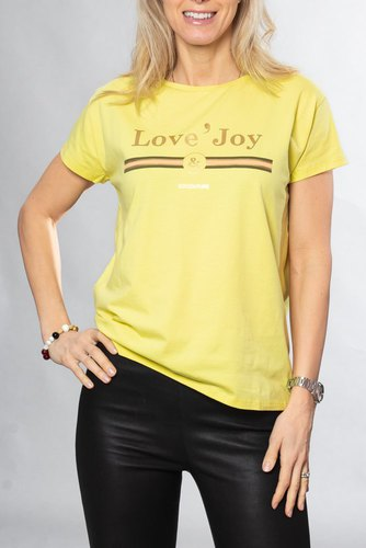 Neo Noir New Cosma Couture Tee Yellow