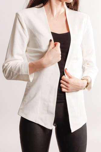 Vila Viher 3/4 New Blazer Snow White