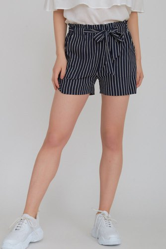 Rut & Circle Fatima Strip Shorts Blue/white