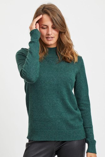 Vila Viril L/s Turtleneck Knit Pine Grove