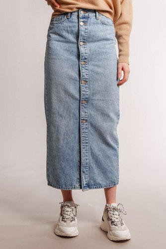 Dr. Denim Venla Skirt Destiny Blue