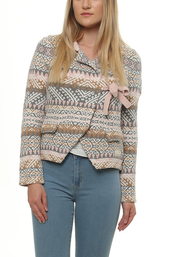 LOVELY KNIT JACKET MULTI