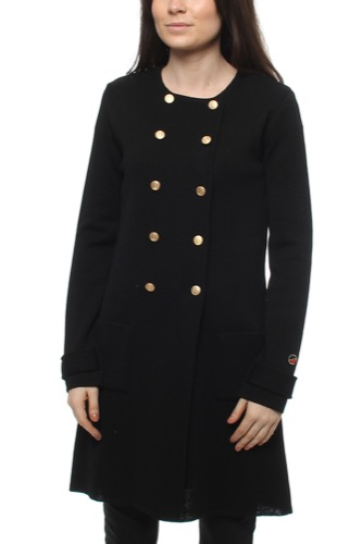Busnel SANTIAGO COAT BLACK