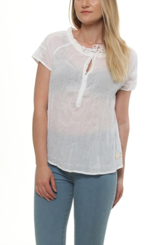 SO LONG S/S BLOUSE BRIGHT WHITE