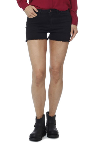 Vila Virusty Rw Cutoff Shorts Black