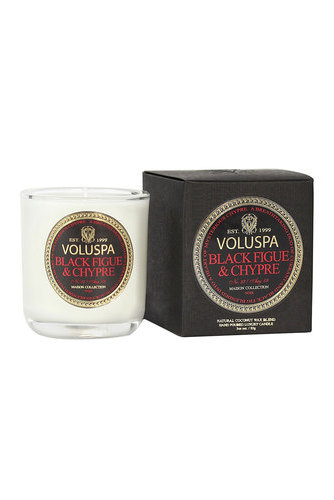 Votive Candle Blackfig&chypre