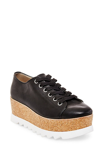 Steve Madden KORRIE SNEAKER LEATHER BLACK