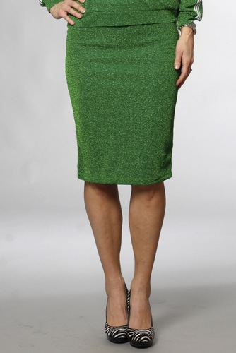 Vila Vilux Pencil Skirt Jelly Bean