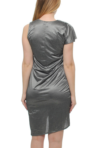 Cotton Candy Dress Washed Metallic