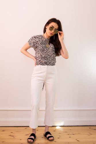 Neo Noir Alfie Pants Off White