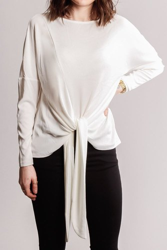 Vila Vinamina L/s T-shirt Cloud Dancer