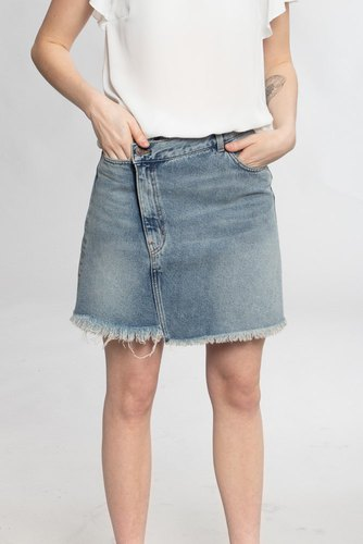 Cheap Monday Slant Skirt Hex Blue
