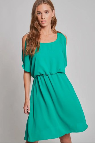 Dry Lake Tuesday Dress Jade Green