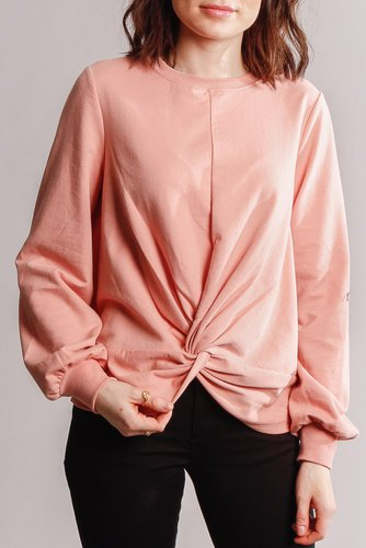 Vila Vimidge L/s Sweat Rose Tan