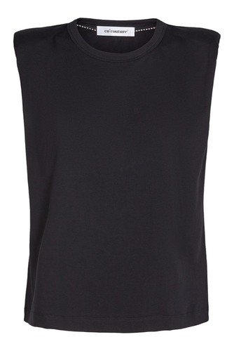CO'COUTURE Eduarda Tee Black