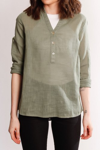 B.YOUNG Byhenri Shirt Sea Green
