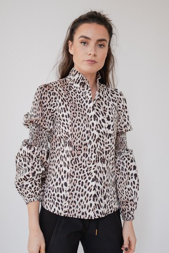 Notes du Nord Maxine Shirt Leopard