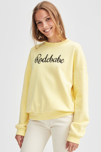 Rodebjer Rodebabe Sweatshirt Light Yellow